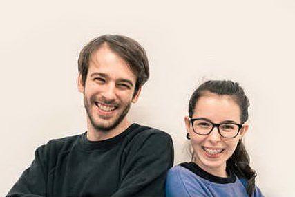 I due giovanissimi ideatori della start up Maga