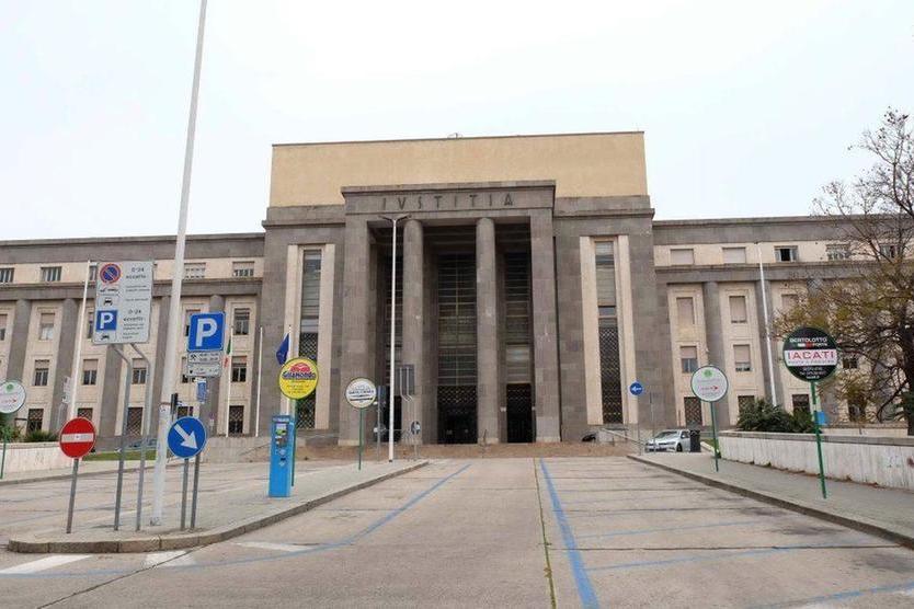 Il tribunale di Cagliari (archivio L'Unione Sarda)