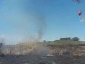 Nube tossica a Quartu, brucia ancora la discarica