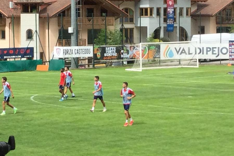 Cagliari, questo pomeriggioprimo test stagionale contro il Real Vicenza