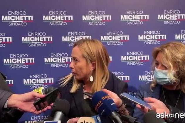 """Scontri a Roma, Meloni: """"Perché il governo non ha fatto nulla?"""""""