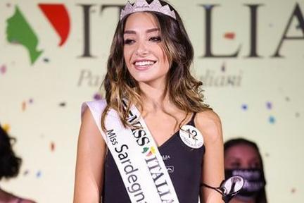 Miss Sardegna è Chiara Manca, 21ennedi Oristano
