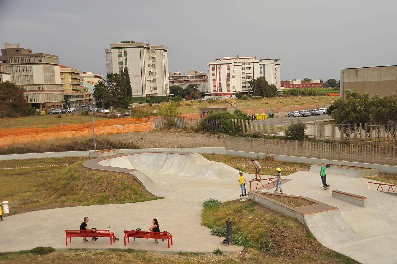 Skatepark, scivoli e polemiche