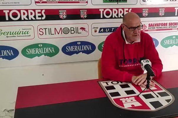 Torres sconfitta dalla Nocerina 2-1, parla il tecnico Graziani