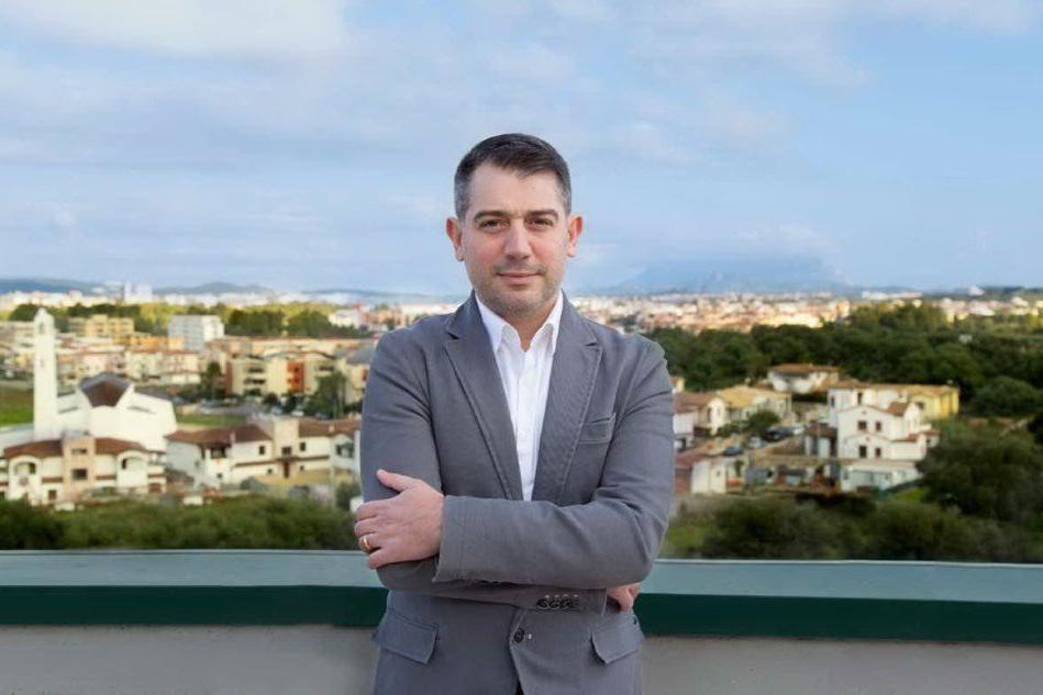 Antonello Idini, sindaco di Padru (foto Lecca)