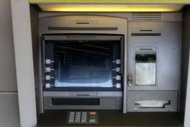 Un bancomat delle Poste