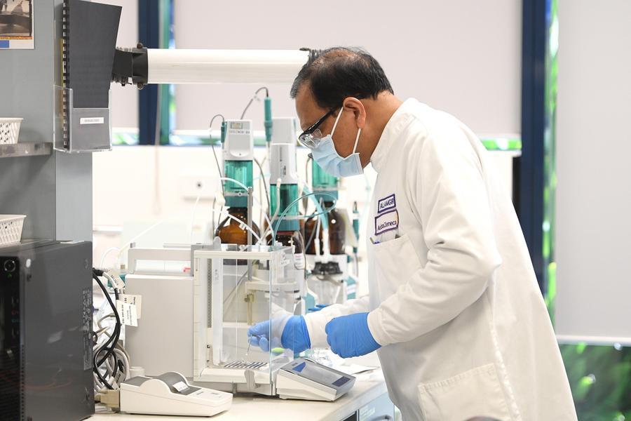 Un laboratorio\u00A0(Ansa)