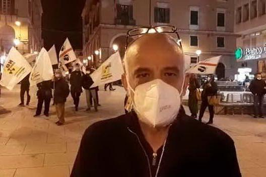 """Sassari, raduno in Piazza Castello per dire """"No alle scorie"""""""