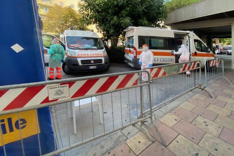 Virus, nuova vittima:muore un uomo di Elmas Reparto Covid al Ss. Trinità