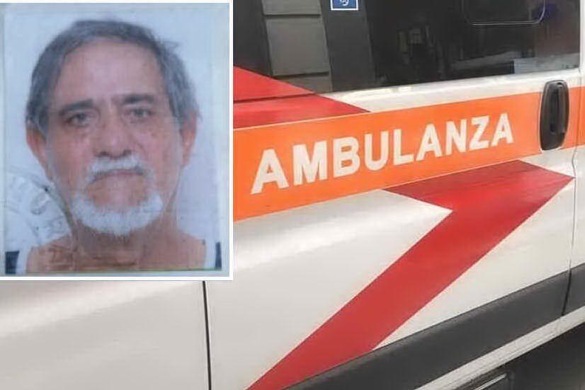 """Pensionato morto in ambulanza, chiusi gli accertamenti. Il figlio: """"Poteva essere salvato?"""""""