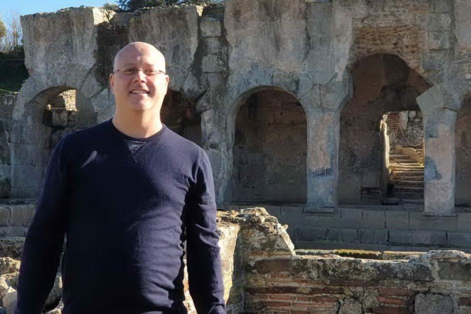 Il sindaco Serafino Pischedda (foto Orbana)