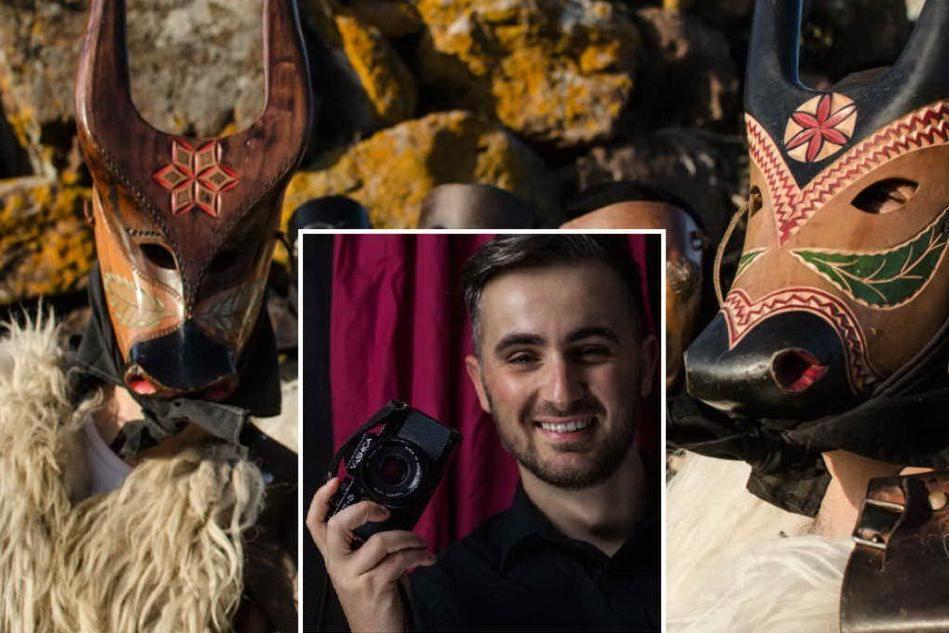 Le maschere sarde a Melbourne: gli scatti di Luca Pisci in una mostra