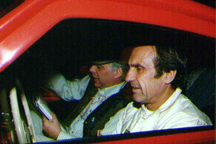 L'ex pilota della Ferrari, Carlos Reutemann (Ansa)