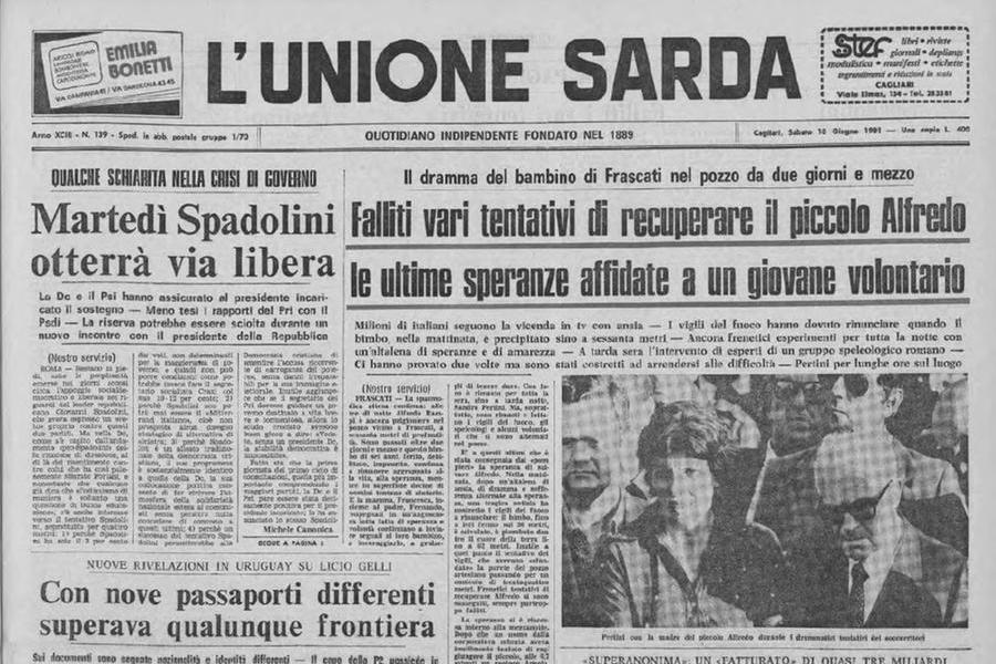 Alfredino, la tv del doloreche sconvolse gli italiani