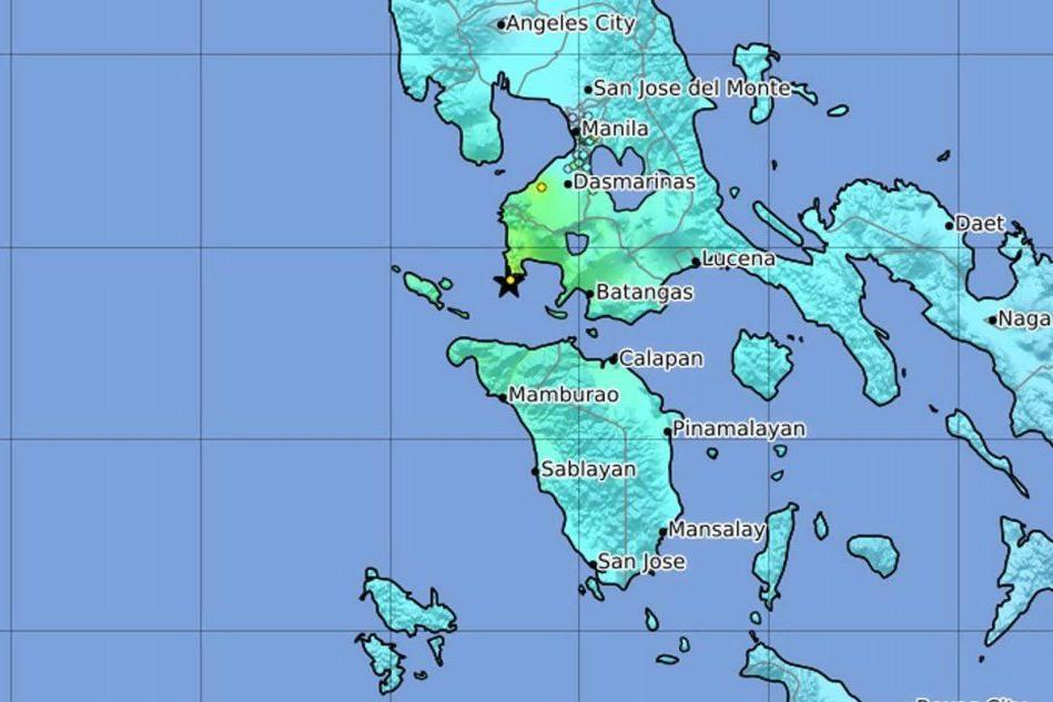 Terremoto nelle Filippine, scossa di magnitudo 6.4