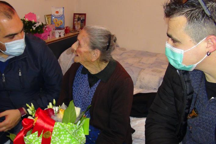 Serdiana piange tzia Bona, la nonnina ultracentenaria
