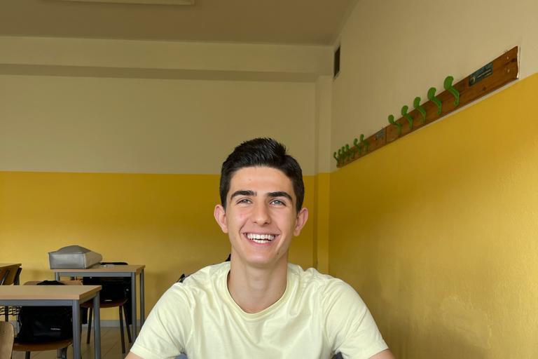 Quartu, lo studente modello che sogna di aiutare la ripresa economica