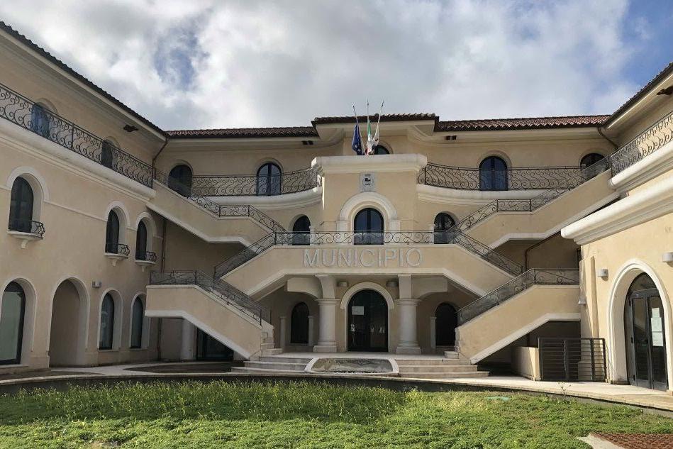 Il Municipio di Domus de Maria (foto Murgana)