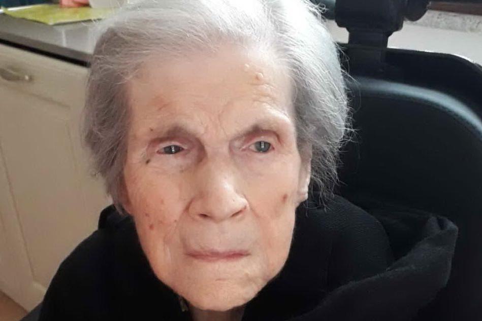 Serdiana dice addio alla centenaria Rita Meloni