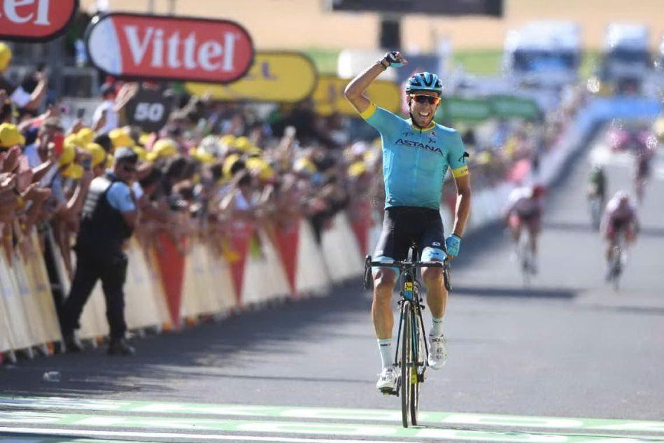 Tour de France, tappa a Fraile. I migliori molto attardati