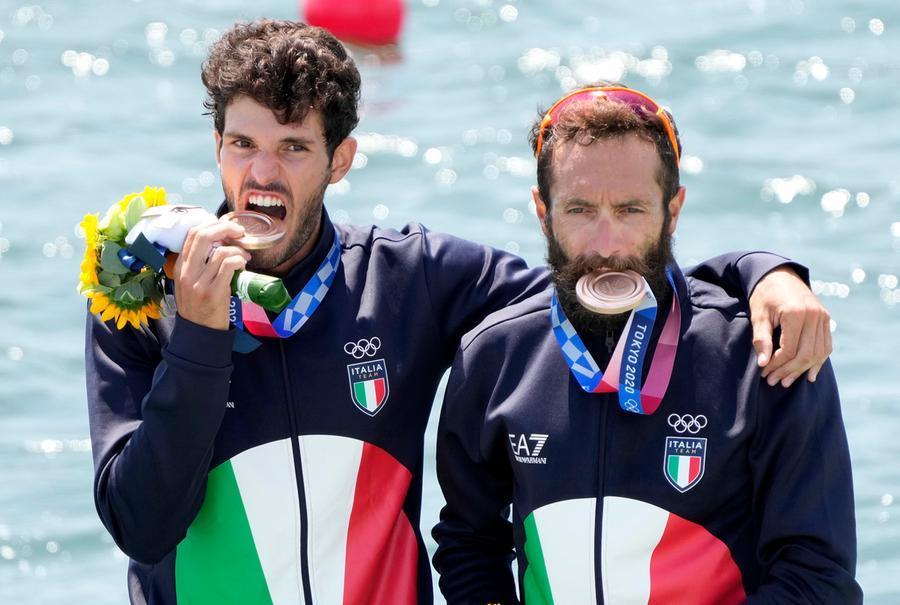Stefano Oppo, bronzo olimpico\u00A0(Franck Robichon / Epa)