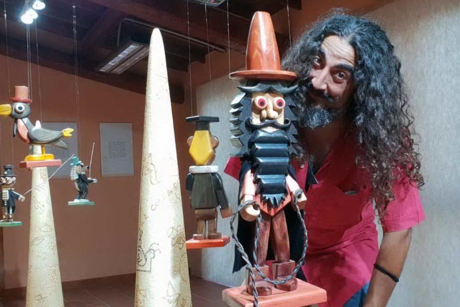 Pinocchio arriva in Marmilla con la mostra di Maestrodascia