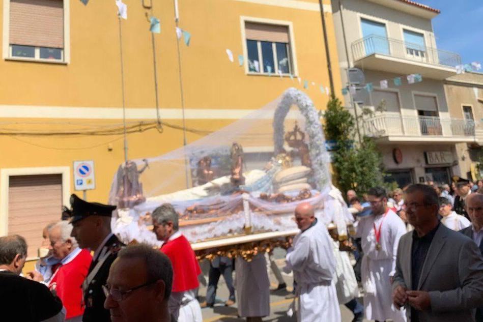Cabras: nessuna processione per festeggiare Santa Maria