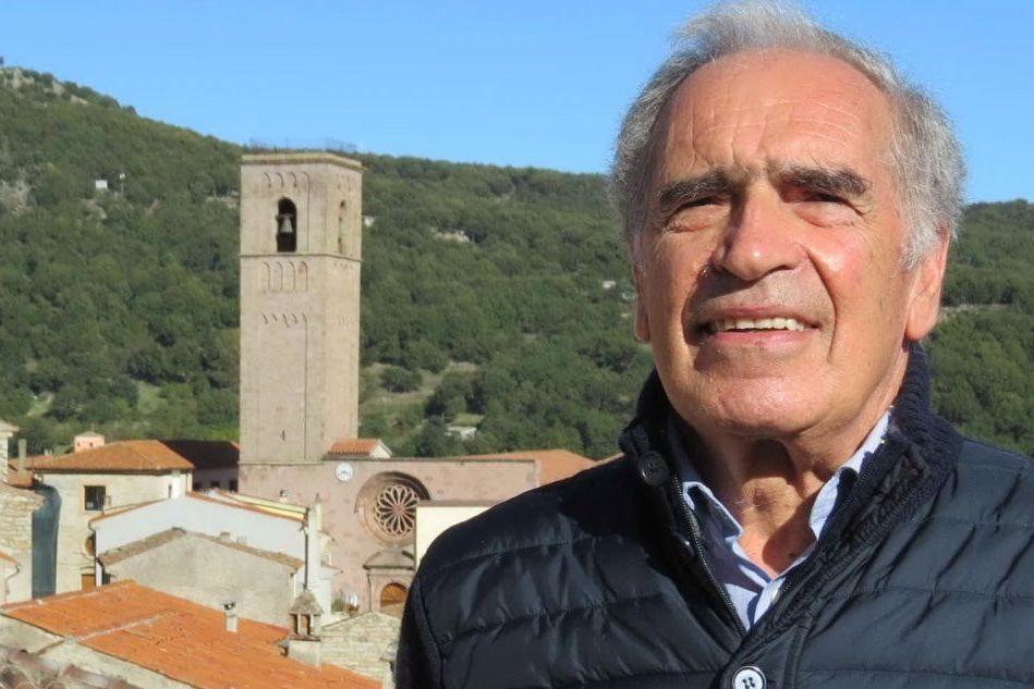 Salvatore Lai sindaco di Gavoi (foto L'Unione Sarda)