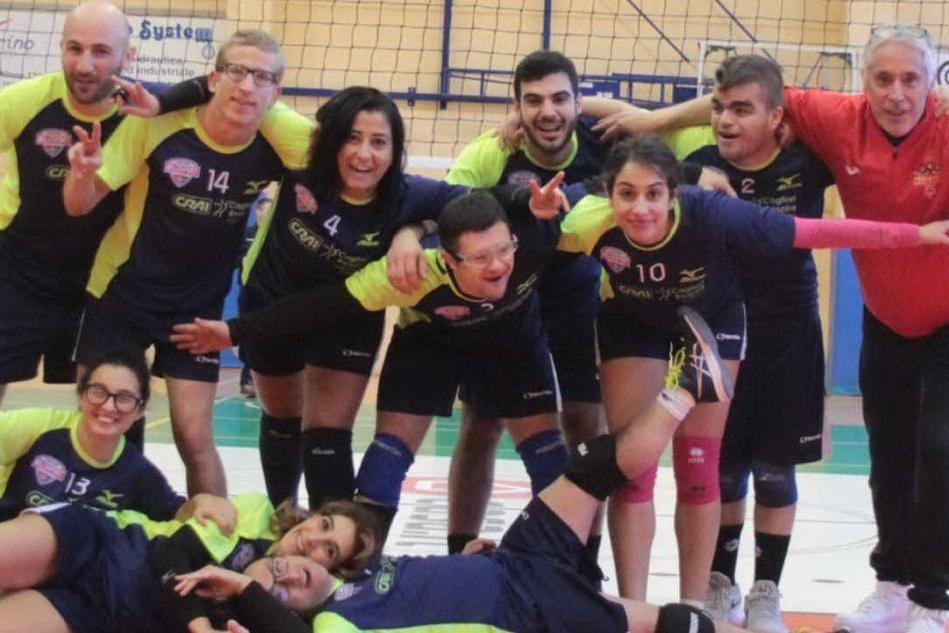 """""""Bear Wool Volley"""", a Biella anche gli atleti speciali della Sardegna"""