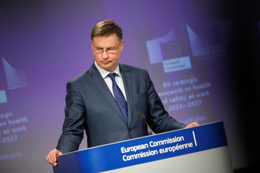 """Dombrovskis: """"Nei bilanci 2023 tornerà il Patto di stabilità"""""""