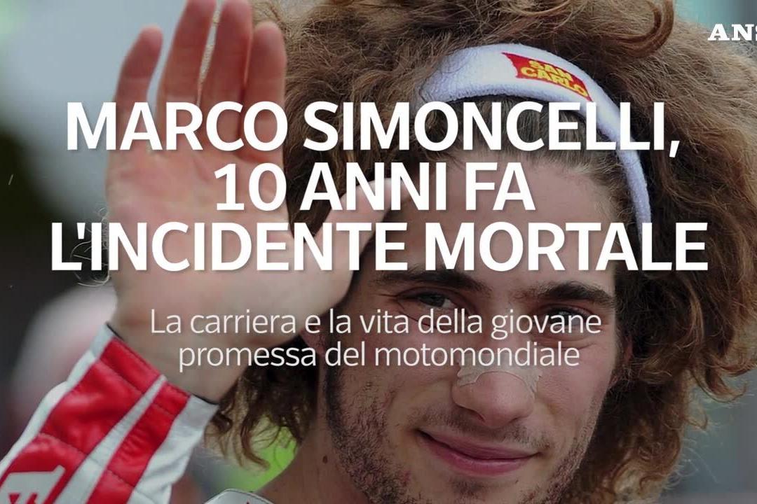 Dieci anni fa la tragedia di Simoncelli, vita e carriera della giovane promessa