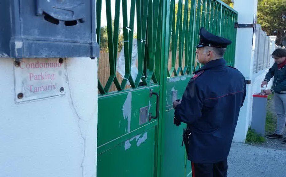 Trovato un cadavere al Poetto di Quartu, i rilievi dei carabinieri