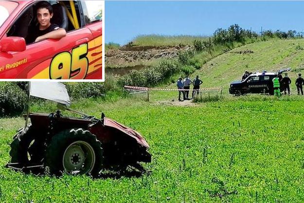 Guasila:16enne muore schiacchiato dal trattore che stava guidando, lutto cittadino