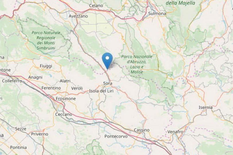 Scossa in provincia dell'Aquila: avvertita anche a Roma e Napoli