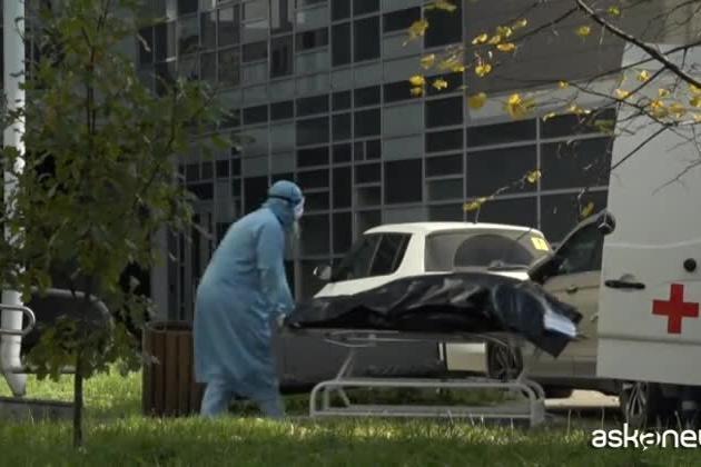 Più di mille morti al giorno per Covid in Russia