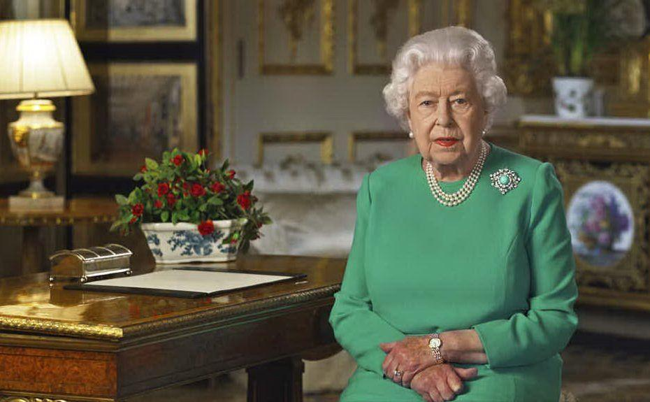 Lo scorso 5 aprile è apparsa in tv per lanciare un messaggio agli inglesi sull'emergenza coronavirus (foto Buckingham Palace)