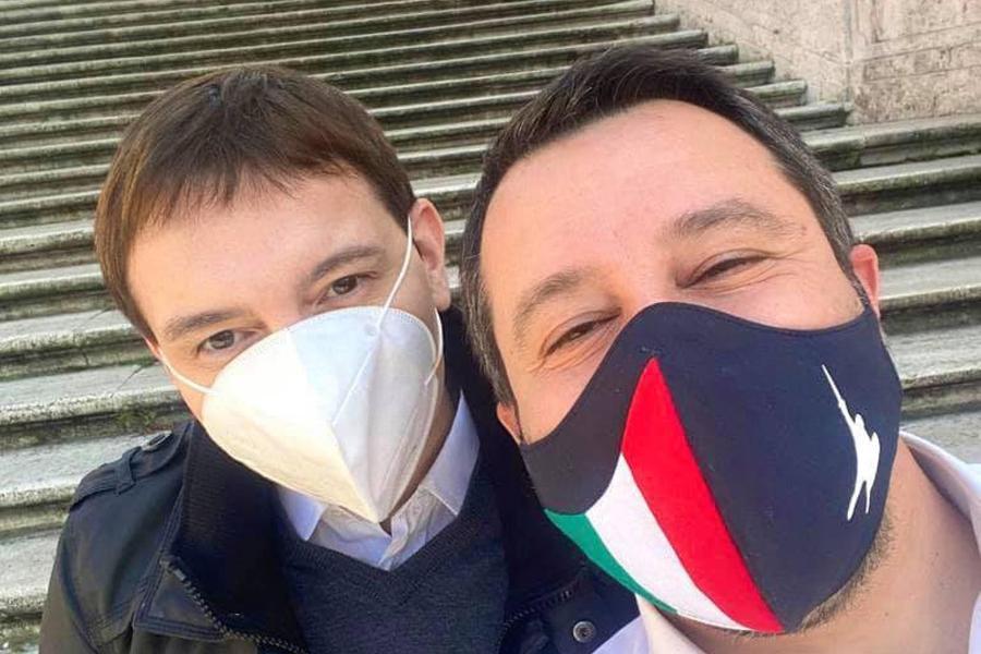 """Salvini difende Morisi: """"La droga è morte, ma la vicenda non c'entra nulla con la Lega"""""""