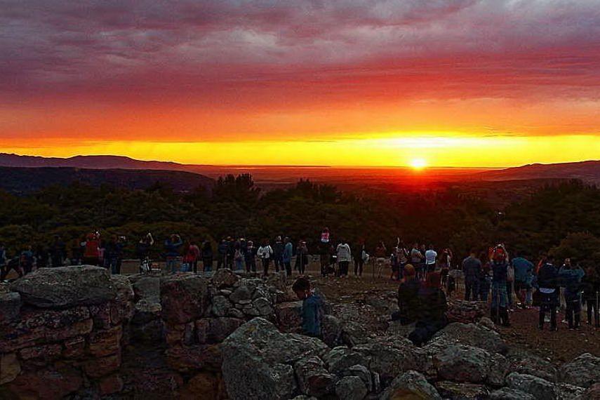 Marmilla, fine settimana fra tramonti e siti archeologici