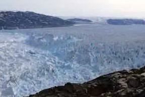 Scioglimento dei ghiacciai in Groenlandia: il video in timelapse