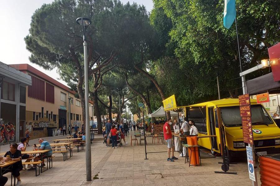 """Cagliari, in piazza Giovanni per la Festa del Gusto. """"Finalmente si riparte"""""""