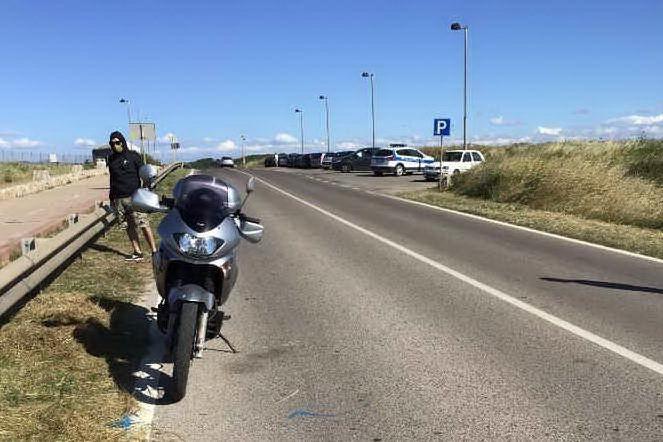 Il luogo dell'incidente (L'Unione Sarda - Pala)