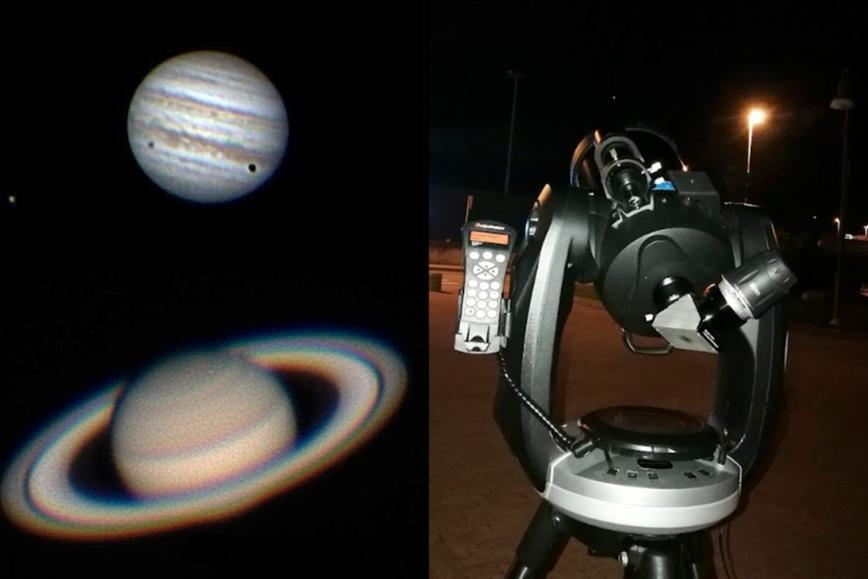 Primo fine settimana di settembre con i pianeti al telescopio
