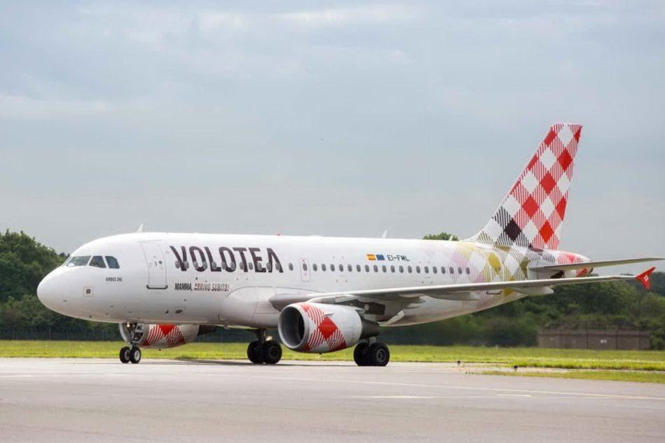 Un aereo Volotea (Foto ufficio stampa)