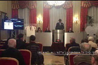 L'asta per la maglia di Gigi Riva: l'evento al Gran Hotel et de Milan