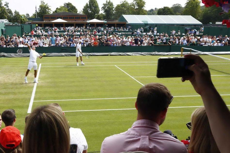 Wimbledon, campioni in bianco sull'erba inglese