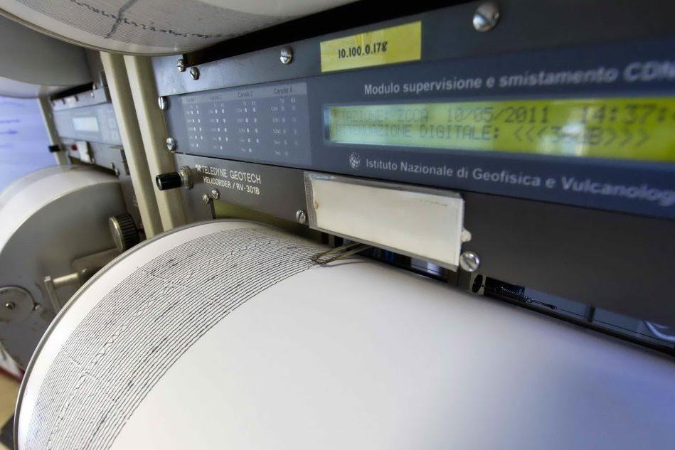 Terremoto di magnitudo 3 al largo delle coste calabre