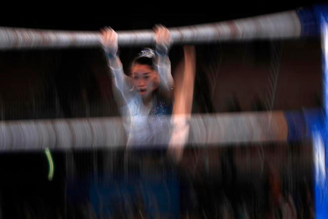 La ginnasta Hatakeda cade in allenamento, danni al midollo spinale