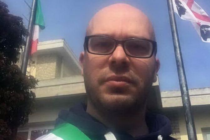 Il sindaco di Turri Martino Picchedda (L'Unione Sarda - foto Pintori)