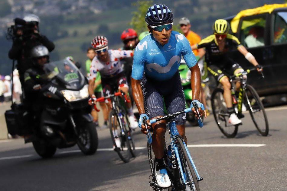 Tour de France, Quintana leader della 17esima tappa