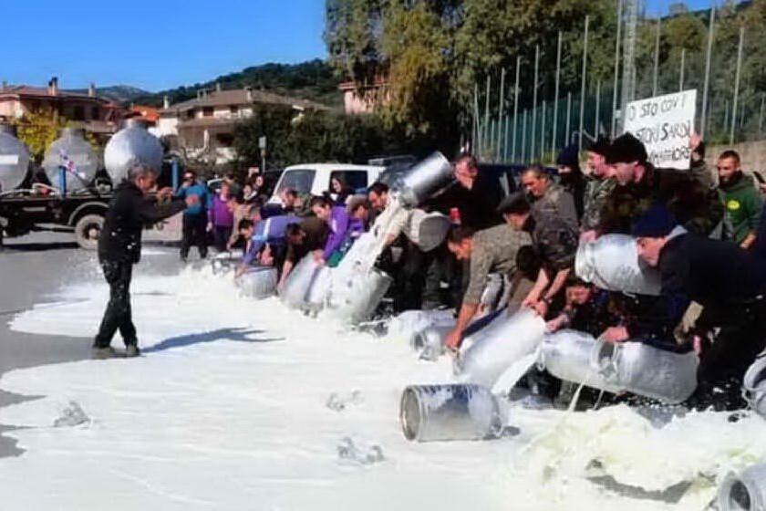 """Protesta del latte, pastori sul piede di guerra: """"Riprenderemo la lotta nelle piazze"""""""